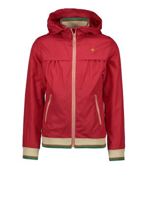 FLO jacket F002-5205 hooded cerise