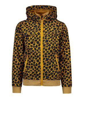 FLO jacket F002-5205 hooded oker