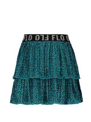 FLO Rok  F002-5720 plisse turquoise