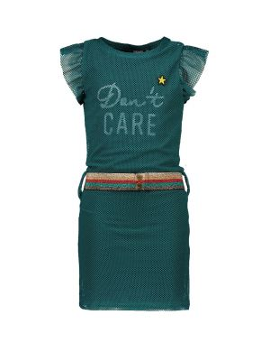 FLO Dress F002-5885 turquoise