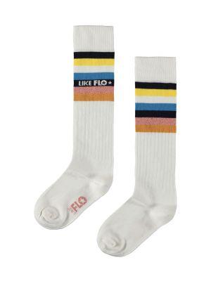 FLO Socks F003-5900 rib knee sock