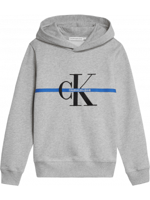 Calvin Klein hoody IB0IB00465 grey