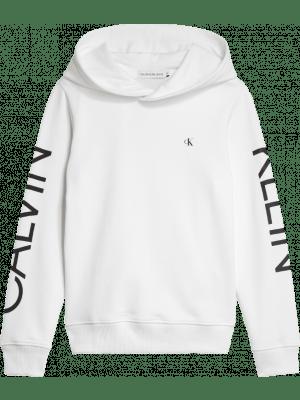Calvin Klein hoody  IB0IB00495 wit