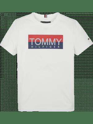 Tommy Hilfiger Reflec Tee KB0KB05636 W