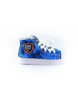 Shoesme palm sneaker SH8S016-G-blue
