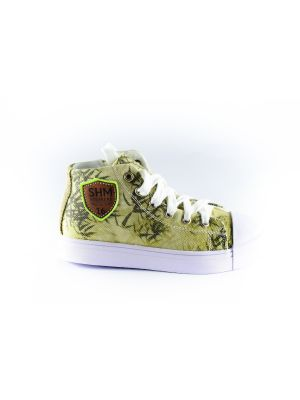Shoesme palm sneaker SH8S016-F-green