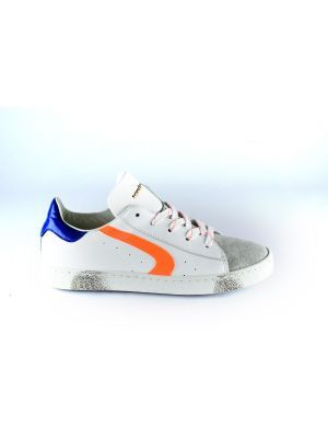 Rondinella  sneaker 11227-1 wit oranje