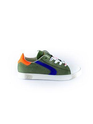 Rondinella  sneaker 11227-1 groen blauw