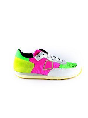 Rondinella  sneaker 11523-1 rose groen