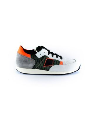 Rondinella  sneaker 11523-1 army oranje