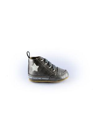 Shoesme Babyslofje BS8A003-C  zilver