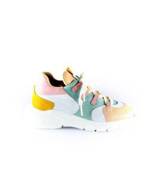 Clic sneaker CL-9855 rose mint