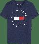 Tommy Hilfiger Flag Tee KB0KB05718 Navy