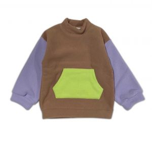 Cos I Said So sweater CBPS color block pouch