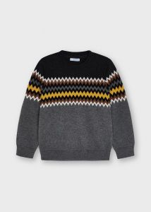Mayoral sweater 4355 Jacquard gold