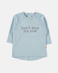 Petit Oh Tee 111012001 Don't stop blauw