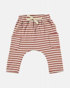 Petit Oh Stripe pants 111015005 stripe roest