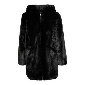 Only jas konmalou 15231505 nep fur hooded zwart