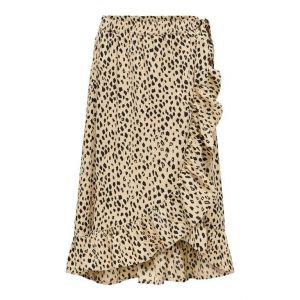 Only skirt Konlino 15232792 fake wrap maxi Sand