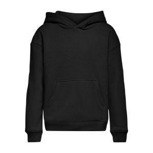 Only hoodie 15236428 konevery jog effen zwart