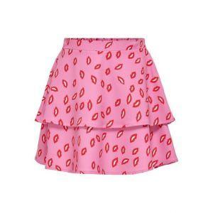 Only skirt Konsolveig 15237822 lips pink