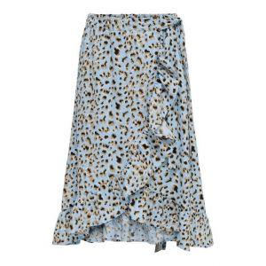 Only skirt Konlino 15238002 wrap maxi leo blue