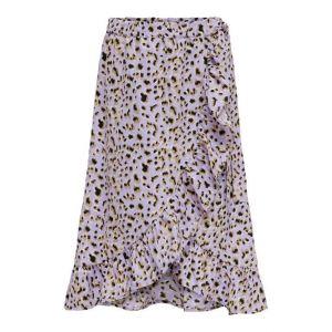 Only skirt Konlino 15238002 wrap maxi leo lila