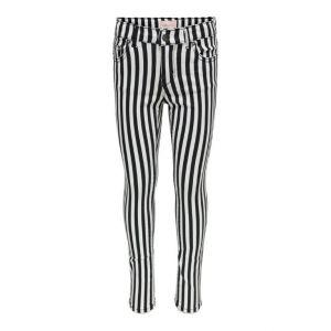Only pants Konnine 15240778 black white stripe