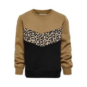 Only sweat 15243392 koncilla black leo brown