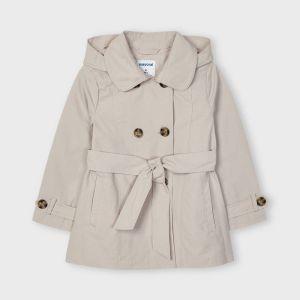Mayoral jas 03487 trench coat beige