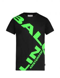 Ballin tshirt 21017101 zwart