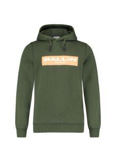 Ballin Hoody 21017305  Dark army oranje