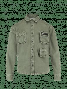 Ballin blouse 21037230 dark army