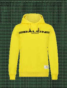 Ballin hoodie 21037325 hoodie logo boord geel