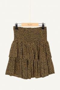 By Bar skirt 21548105 ella leopard khaki