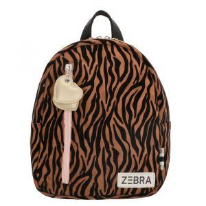Zebra rugzak  826601 fluweel zebraprint
