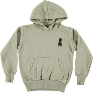 Picnik hoodie  AW21-108 door lock mint
