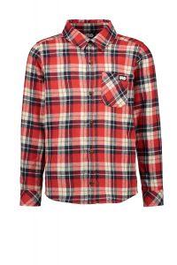 FLO boys  blouse F008-6101 check