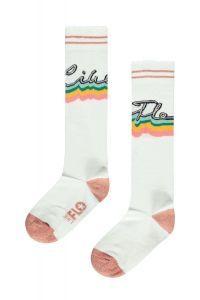 FLO sock F102-5900 kneesock wit