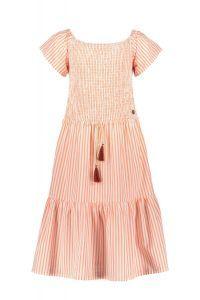 FLO dress F102-5814 neon stripe smock maxi