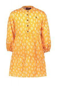 FLO dress F130-5890 woven tuniek oker