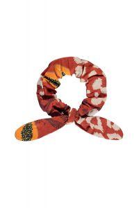 FLO scrunchie F130-5903 papaya