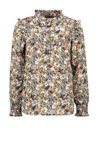 FLO blouse F108-5130 flower crepe