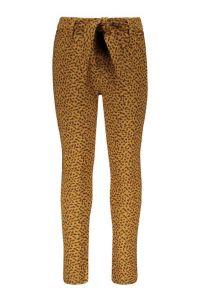FLO pants F108-5650 jacquard jersey camel pants