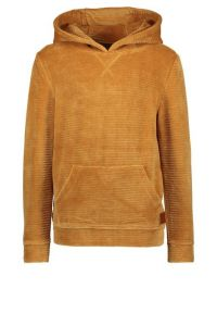 FLO boys trui F108-6350 oker velvet hoodie