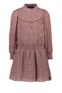FLO dress F109-5830 crepe old pink