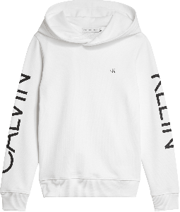 Calvin Klein Hoodie IB0IB00495BAE Logo mouw