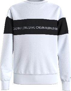Calvin Klein Trui IB0IB00812YAF zwarte balk
