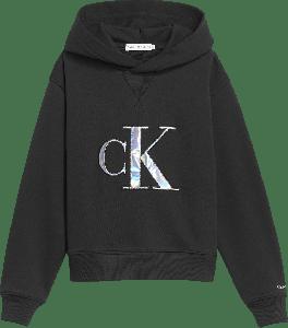 Calvin Klein Hoodie IG0IG00987BEH metallic logo