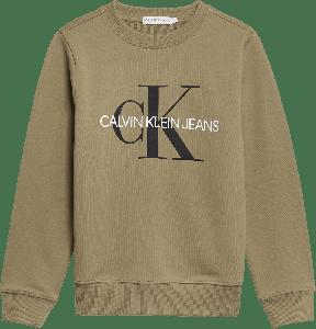 Calvin Klein Trui IB0IB00069M0G Groot logo